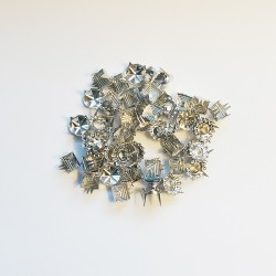 Outlet - Påsnitar, Silver plated, Enligt bild